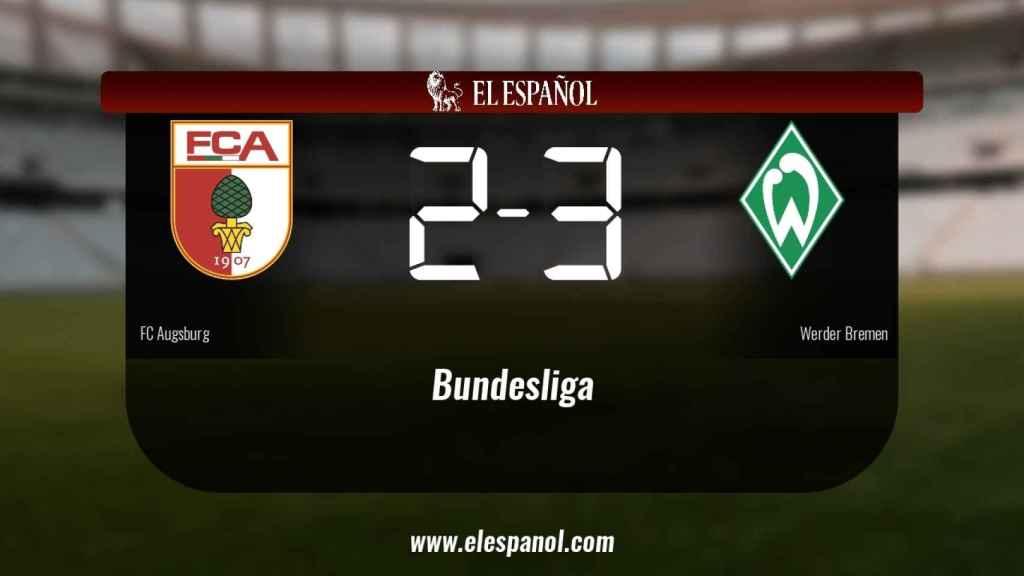 El Werder Bremen se lleva tres puntos a casa
