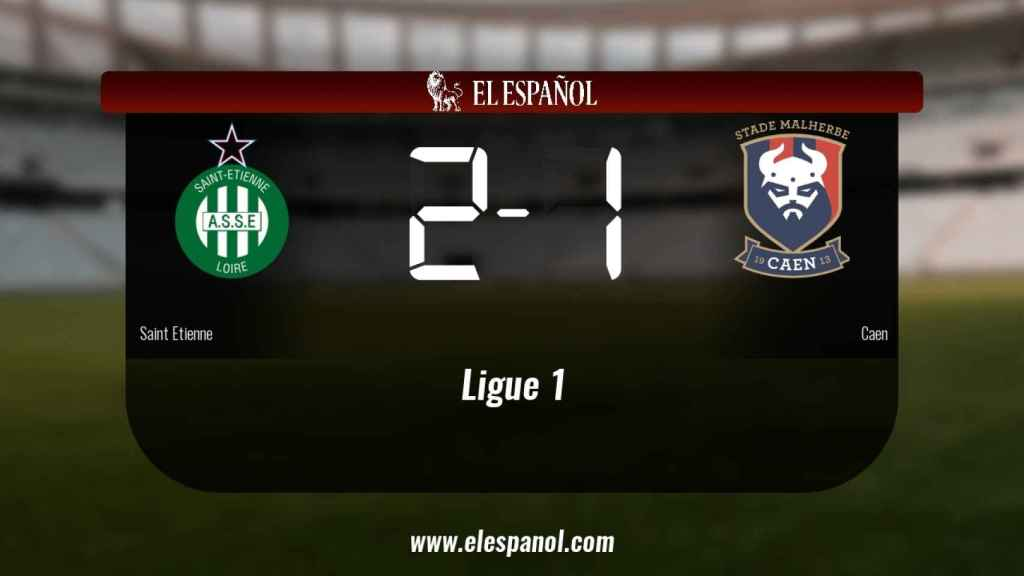 Victoria 2-1 del Saint Etienne frente al Caen