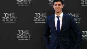 Courtois, en la gala de los The Best de la FIFA
