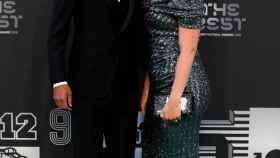 Varane y su mujer, en la gala de los The Best de la FIFA