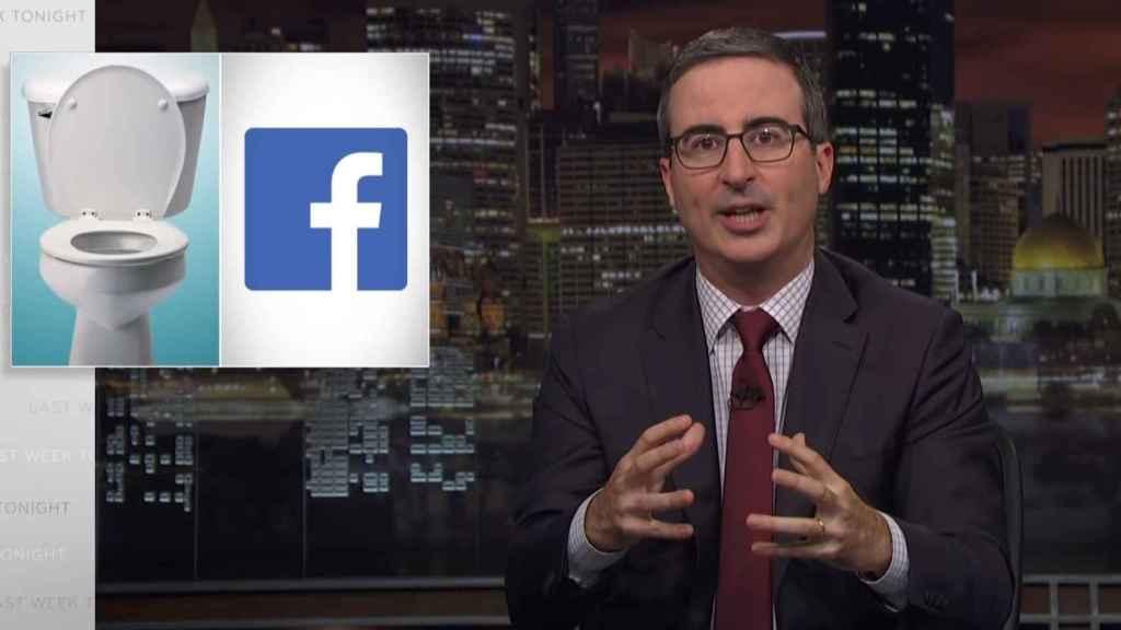 John Oliver destruye a Facebook en Last Week Tonight