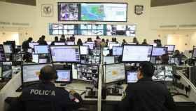 Centro de contro de videovigilancia C5 en Ciudad de México