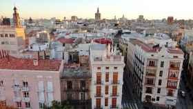 Imagen de la ciudad de Valencia.
