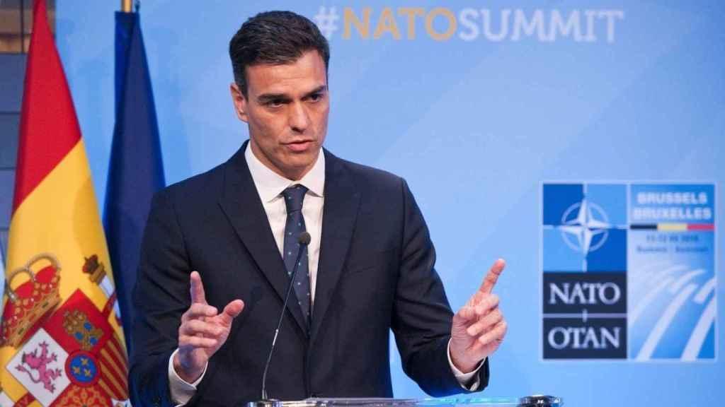 El presidente del Gobierno, Pedro Sánchez, en una imagen de archivo.