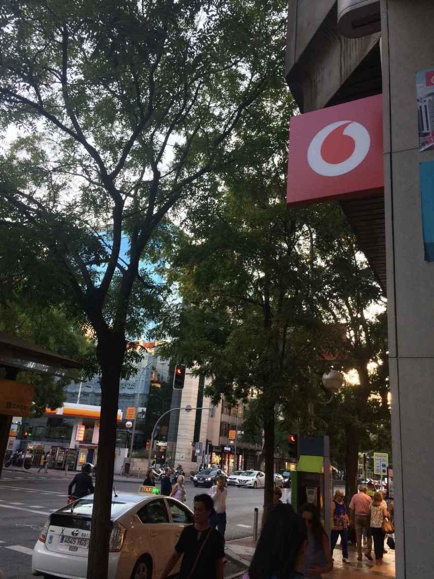 La tienda de Vodafone en el corazón de la calle Goya