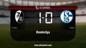 Triunfo del SC Freiburg por 1-0 ante el Schalke 04