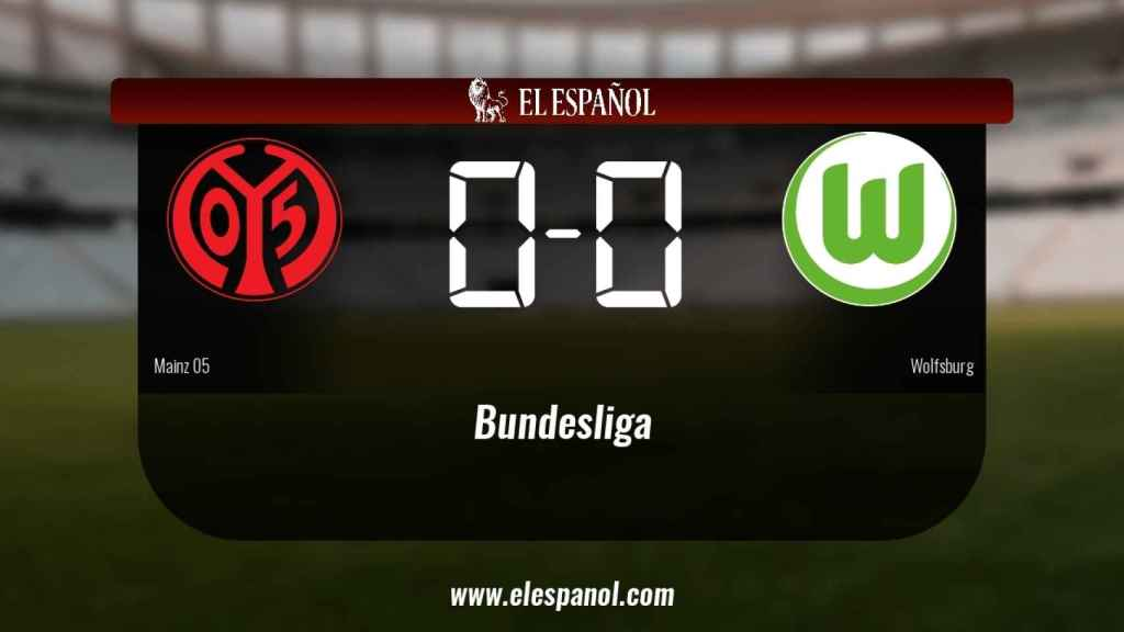 El Mainz 05 no pudo conseguir la victoria ante el Wolfsburg (0-0)