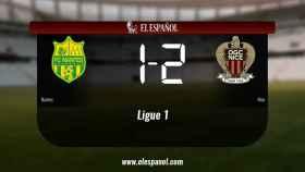 El Nantes 1-2 Nice