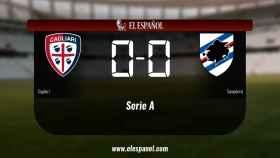 El Cagliari y la Sampdoria empataron a cero