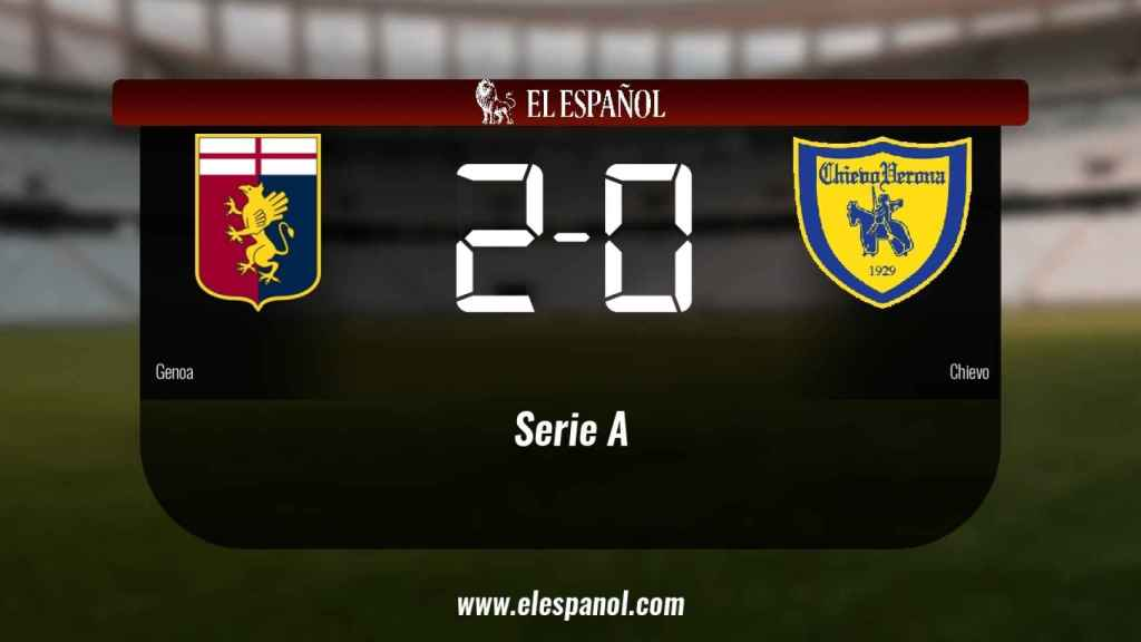El Génova venció en su estadio al Chievo