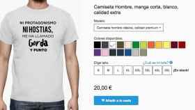 El 'ni protagonismo ni hostias' de Amaia Montero ya es una camiseta