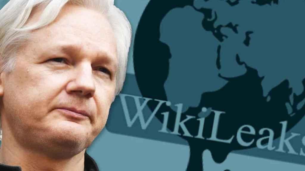 Julian Assange, fundador de Wikileaks, la página web de documentos filtrados.