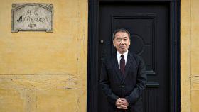 El escritor Haruki Murakami durante un viaje a Dinamarca.