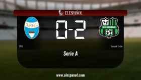 El SPAL cae derrotado frente al Sassuolo (0-2)