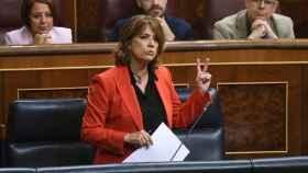 La exministra de Justicia, Dolores Delgado, en una imagen de archivo.
