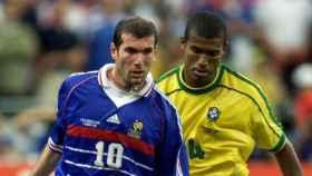Zidane, en la final del Mundial 98.