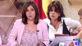 Inma Gómez Lobo en el 'Telediario Matinal'.