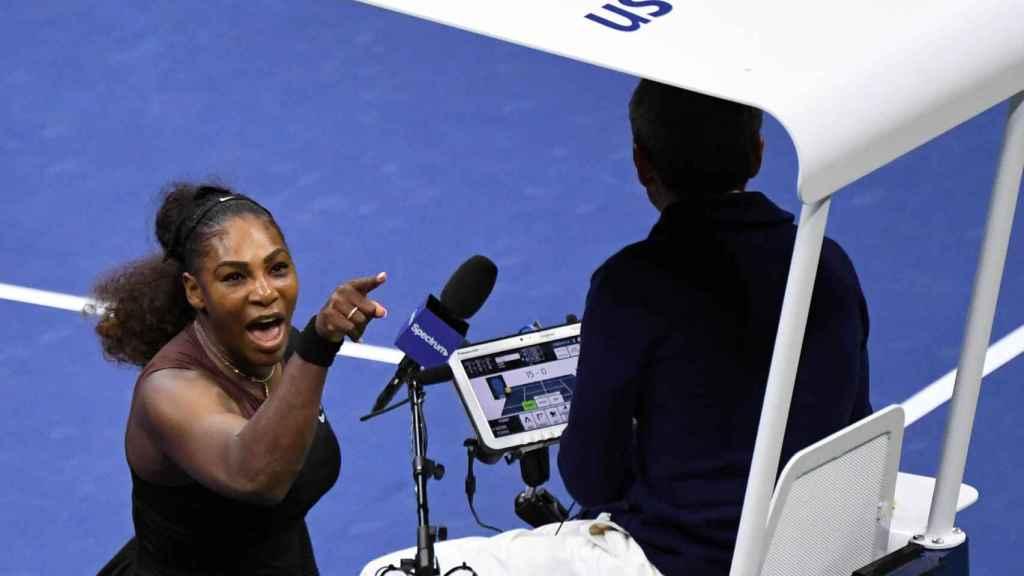 Serena Williams, en la final del US Open.