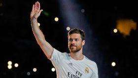 Xabi Alonso en su etapa como jugador del Real Madrid