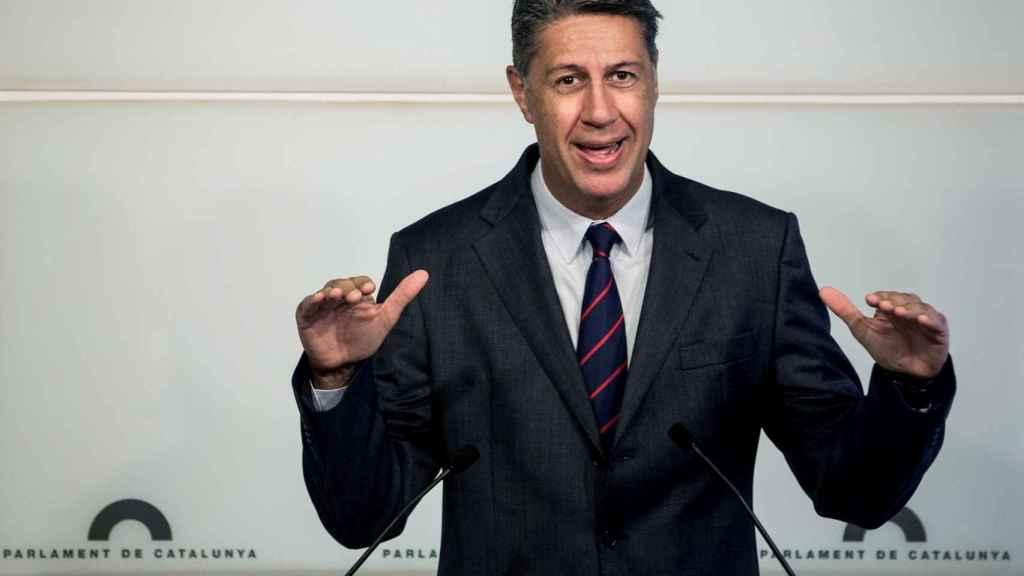 El líder del PPC, Xavier García Albiol.