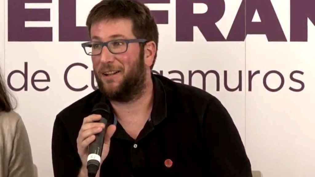 Miguel Urbán, eurodiputado de Podemos.