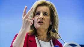 Fátima Báñez.  Ministra de Empleo y Seguridad Social. |