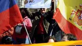 Manifestación de venezolanos en España contra el Gobierno de Nicolás Maduro.