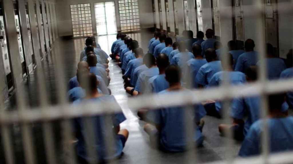 Imagen de archivo de los reclusos de una prisión.