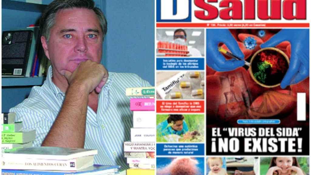 La revista Discovery DSalud difunde toda clase de bulos y de teorías conspiranoicas que ponen en duda de modo flagrante la medicina convencional.
