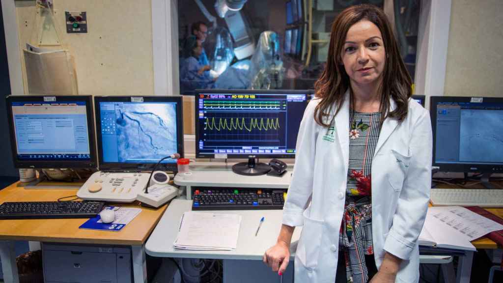 La doctora Mónica Fernández Quero, cardióloga del hospital Virgen del Rocío. Foto Fernando Ruso