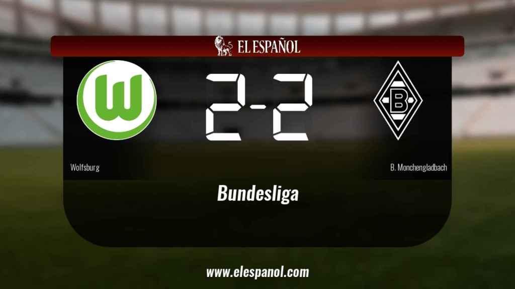 El Wolfsburg no pudo conseguir la victoria frente al Borussia Monchengladbach (2-2)