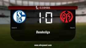 El Schalke 04 venció en casa al Mainz 05
