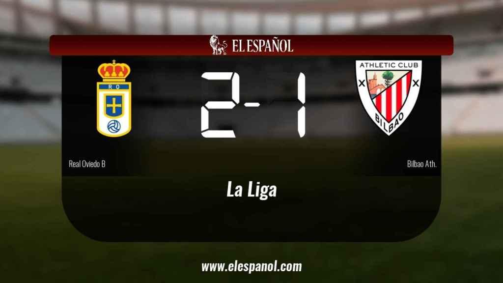Los tres puntos se quedaron en casa: Real Oviedo B 2-1 Bilbao Ath.
