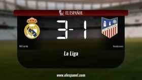 El RM Castilla derrotó al Navalcarnero por 3-1