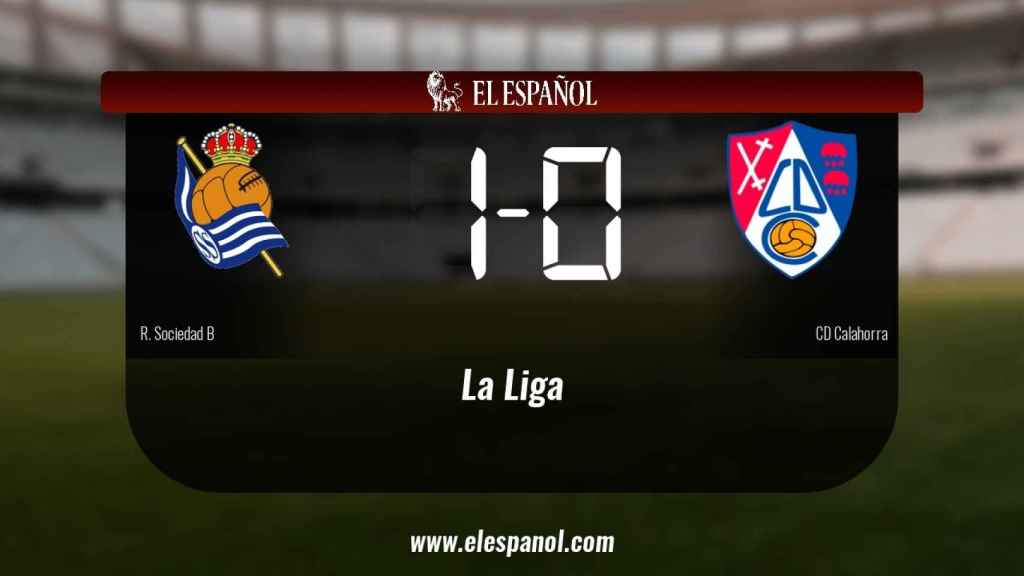 Victoria 1-0 de la Real Sociedad B frente al Calahorra