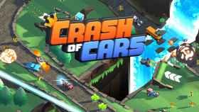 Un Clash Royale con coches, así es Crash of Cars