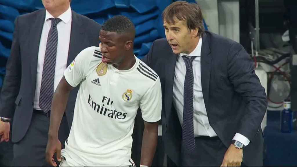Vinicius debuta en partido oficial con el Real Madrid