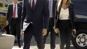 Pedro Sánchez y Begoña Gómez, su esposa, este fin de semana en Los Ángeles (EEUU).