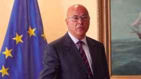 Ángel Olivares, secretario de Estado de Defensa, señalado por Villarejo en una supuesta trama de espionaje.