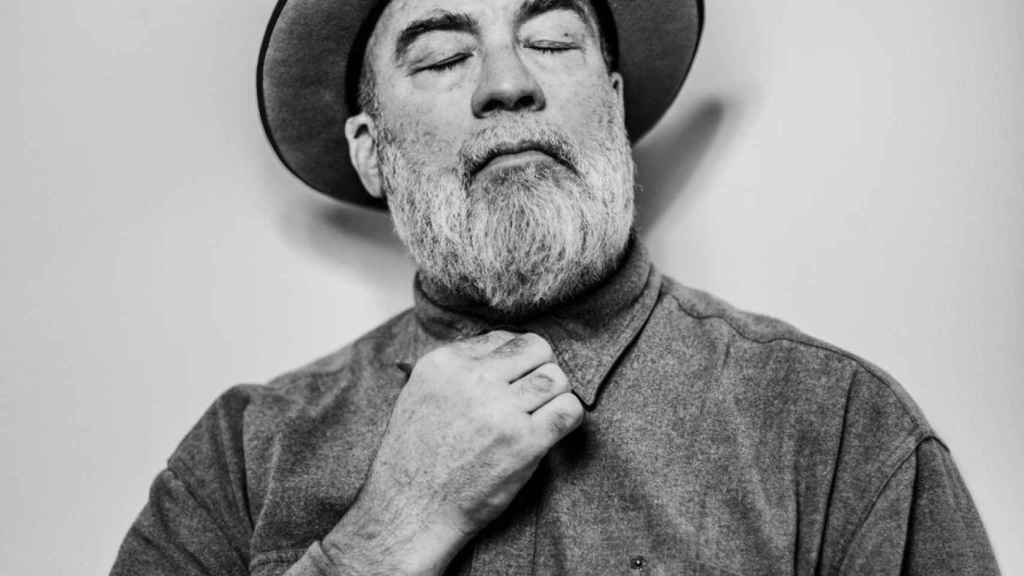 Dan Winters, en la galeria de Spainmedia, fotografiado por Pablo Lorente