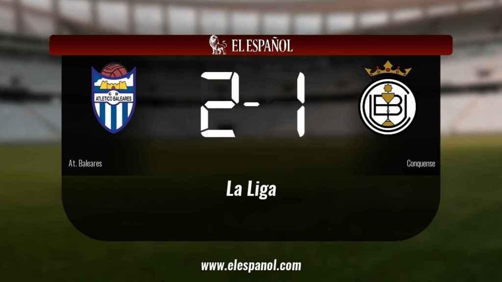 El At. Baleares ganó en su estadio al Conquense