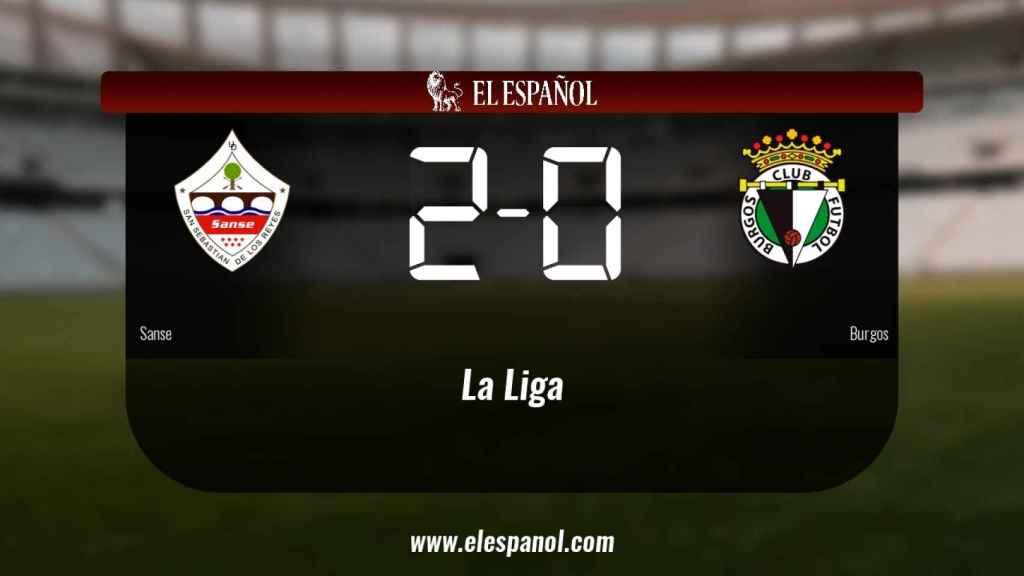 Victoria 2-0 del Sanse ante el Burgos