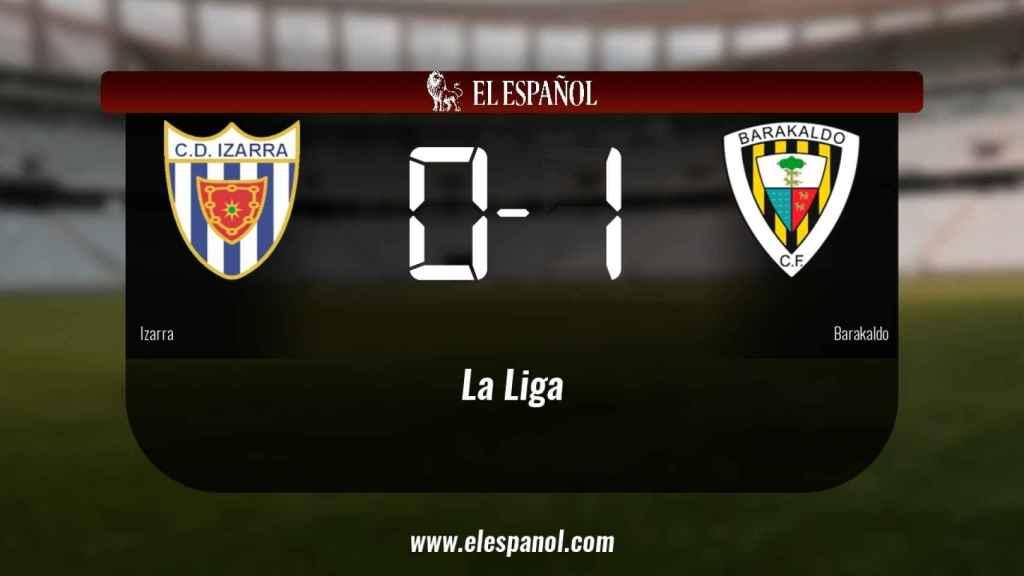 El Izarra cae derrotado ante el Barakaldo (0-1)