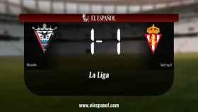 El Mirandés y el Sporting B empatan (1-1)