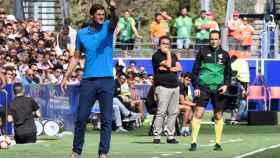 Leo Franco, en un partido del Huesca