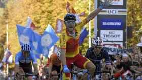 Alejandro Valverde campeón del mundo en Innsbruck