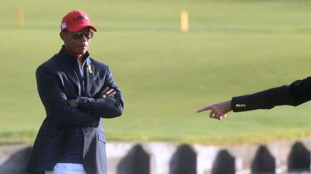 Tiger Woods, siguiendo los últimos puntos de la Ryder Cup
