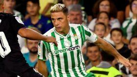 Joaquín, en el Betis - Leganés