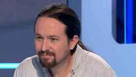 Pablo Iglesias, durante la entrevista en La Sexta.