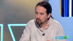 Iglesias, durante su entrevista en La Sexta este domingo.